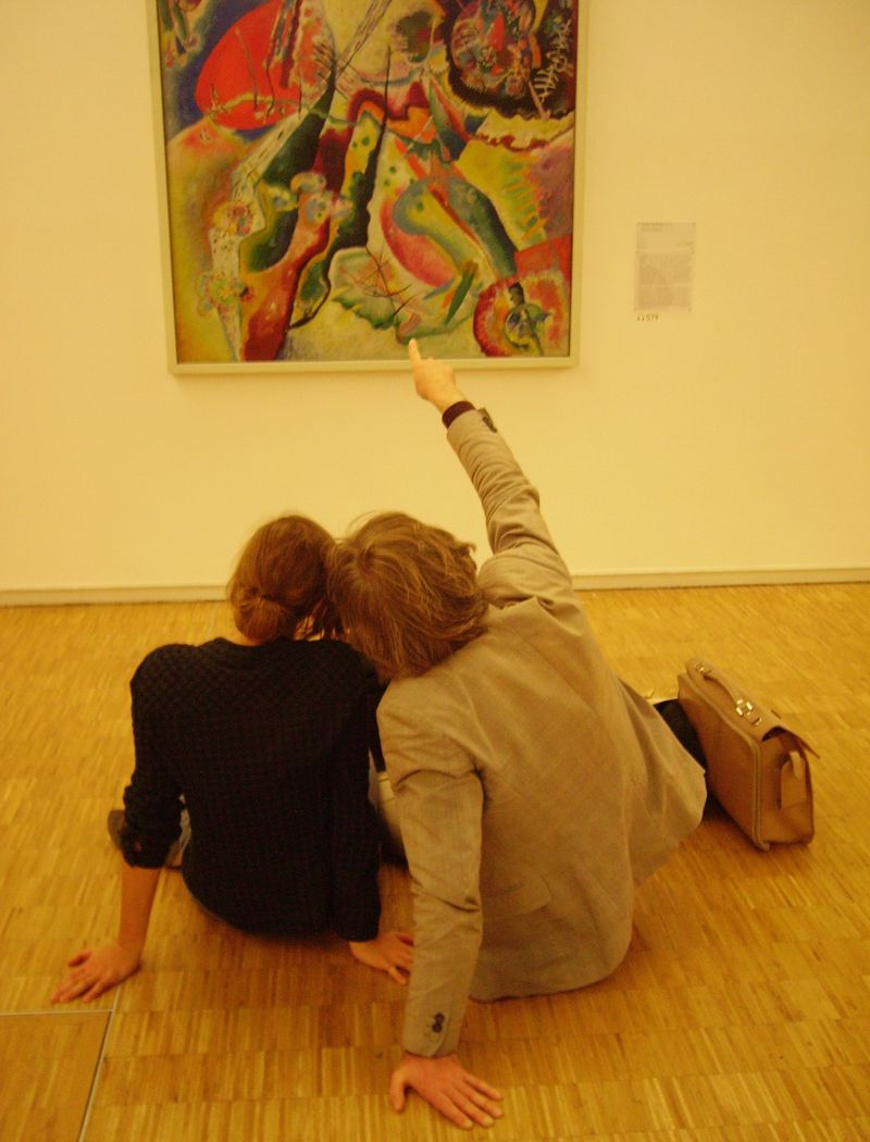 Lovers-Kandinsky